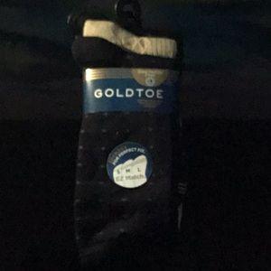 New kids gold toe dress socks